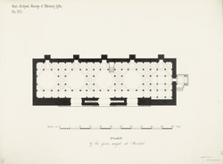 Plan of the Jami Masjid at Mandal